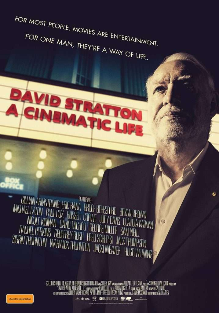 David-Stratton-A-Cinematic-Life-Poster